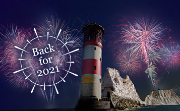 Fireworks at The Needles